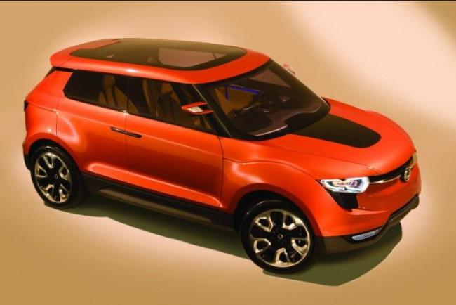 El robusto concept car de SsangYong