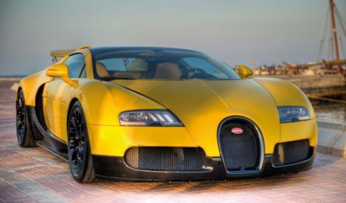 El Bugatti Veyron Grand Sport Special Edition llega a Qatar