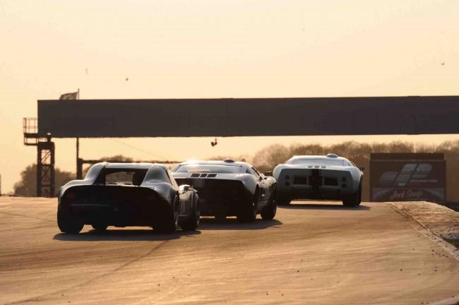 Festival de coches clásicos de Donington 2012