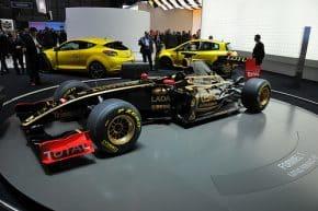 El R31 de Lotus Renault en el pasado Motor Show 2011 de Génova