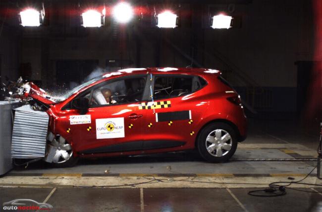 """Nuevo Renault Clio: """"mejor vehículo EuroNCAP de su categoría 2012″"""