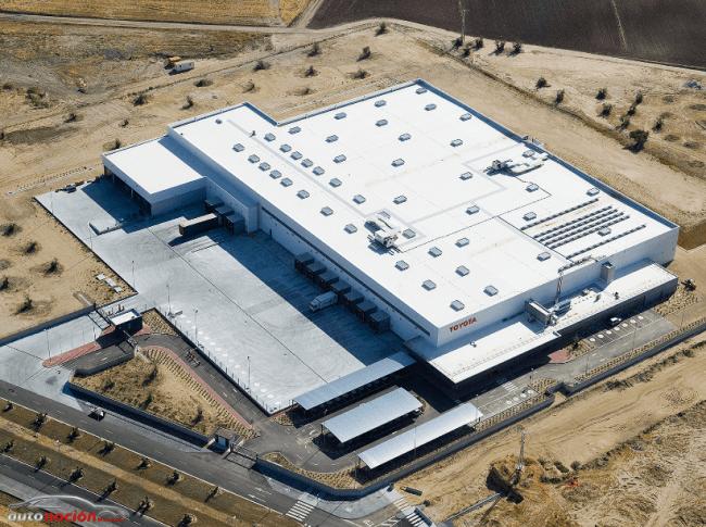 Toyota inaugura un nuevo centro logístico de recambios en España