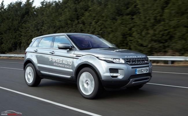 La nueva transmisión automática de Land Rover tiene 9 velocidades
