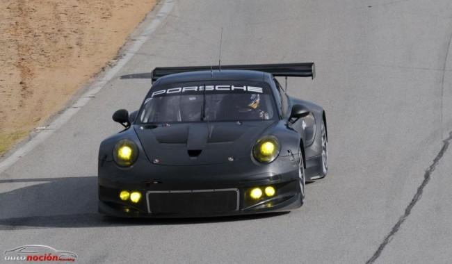 El Porsche 911 RSR estará listo para competir este mismo año