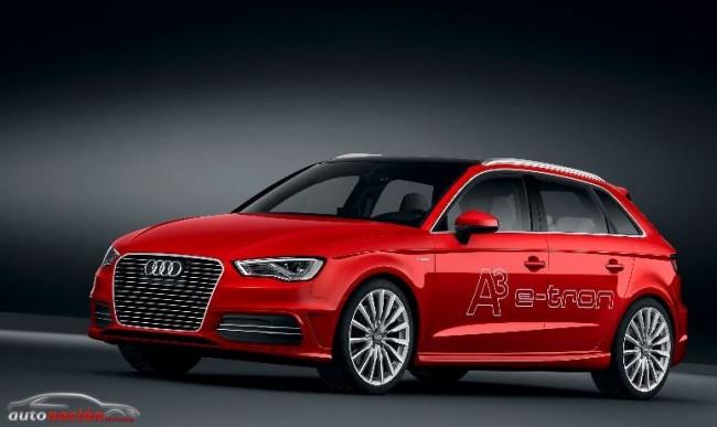 Audi A3 e-tron: De 0 a 100 km/h en 7,6 segundos y un consumo de 1,5 litros a los 100/km