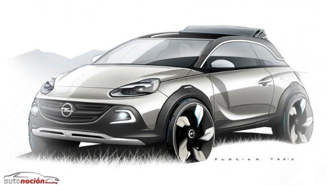 Opel Adam Rocks: ¿Ubarnita, SUV y cabrio a la vez?
