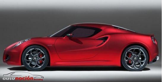 Nuevos rumores del Alfa Romeo 4C