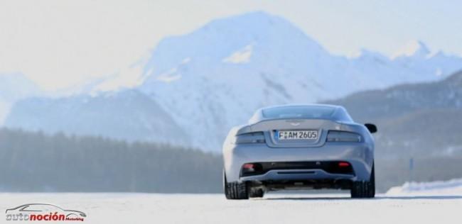 """Hazte con el control de un Aston Martin en el hielo: """"On Ice 2013"""""""