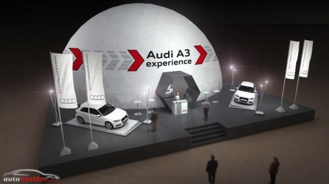 Audi A3 experience: Una forma única de presentar un nuevo modelo