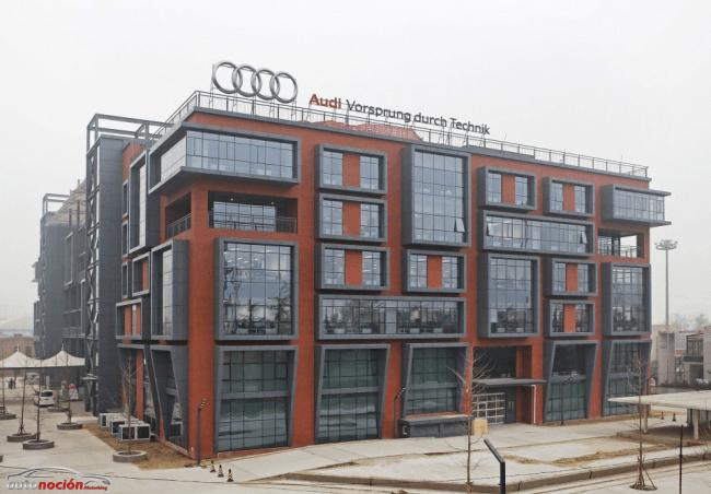 Audi inaugura un centro de I+D para Asia en Pekín
