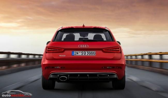 El primer super SUV de la familia Q: Audi Q3 RS