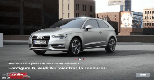 Diseña tu propio Audi A3 y A3 Sportback