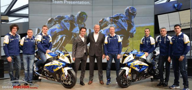 El equipo BMW Motorrad GoldBet, presentado en Munich