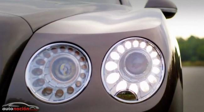 Leves modificaciones en el Bentley Continental Flying Spur
