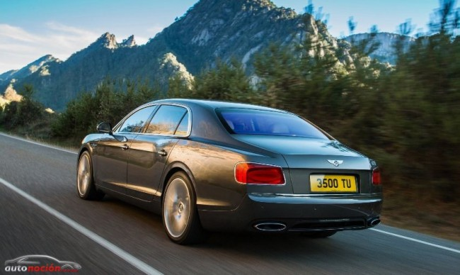 El Bentley Flying Spur 2014 ve la luz antes de Ginebra