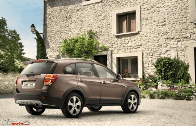 Chevrolet presenta un Captiva renovado en Ginebra