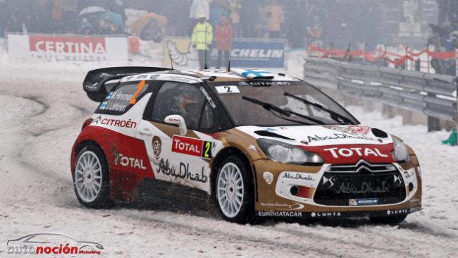 A pilotar sobre hielo con Citroën
