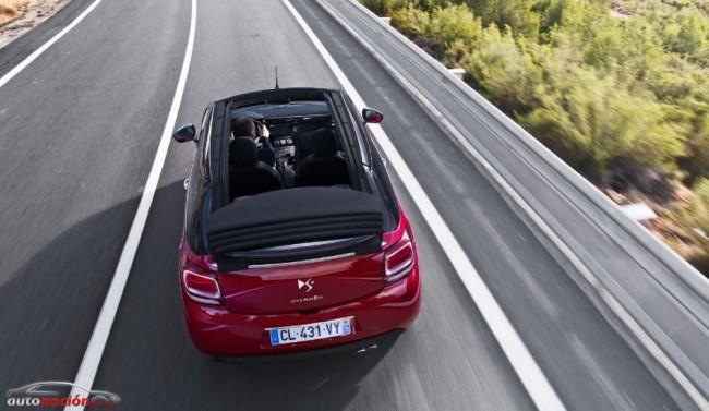 Llega el destape a la gama DS de Citroën: DS3 Cabrio
