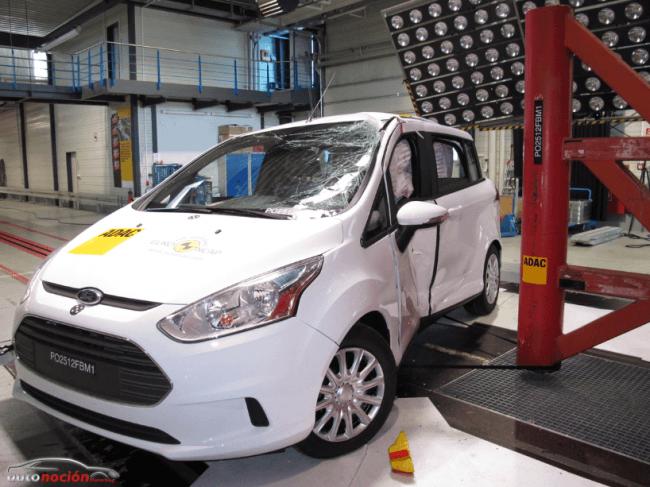 Ford domina los Premios Euro NCAP 2012