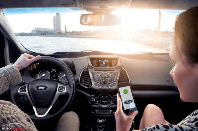 El nuevo EcoSport presenta Ford SYNC AppLink y su colaboración con Spotify