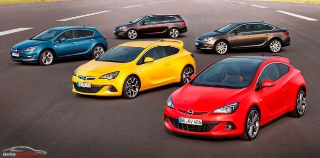 Opel cuela 3 de sus nuevos modelos en el podio de los superventas