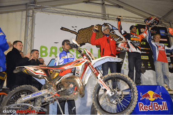 Primer podio de Rodrig Thain con Gas Gas en categoría enduro