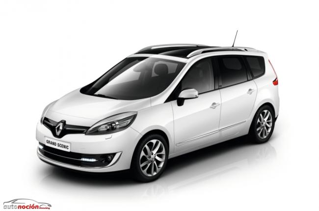 Los nuevos Renault Scénic y Grand Scénic estrenan otro look