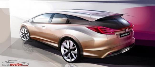 Honda nos mostrará el Civic Wagon y el NSX en Ginebra