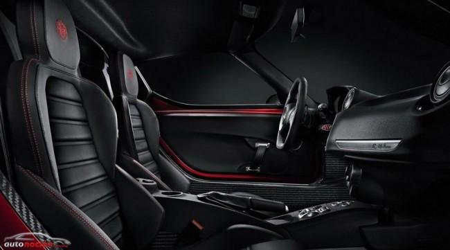 Alfa Romeo nos muestra el interior del 4C