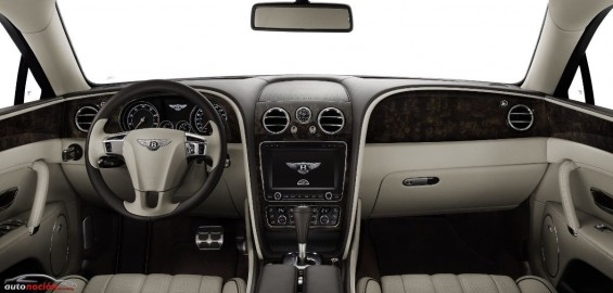 Interior Bentley Flying Spur 2014