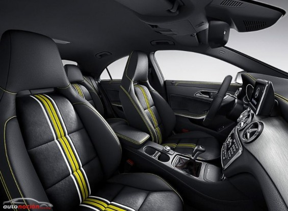 Interior Mercedes Benz CLA Edition 1