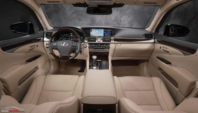 Máximo confort con el Lexus Climate Concierge del nuevo LS