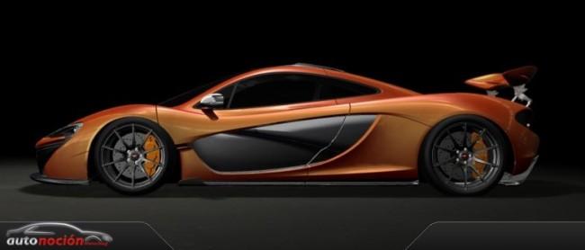 Nueva información sobre el McLaren P1