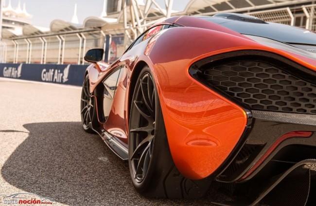 El McLaren P1 al descubierto en unas espectaculares imágenes