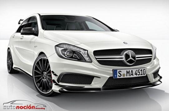 """Mercedes Benz A45 AMG """"Edition 1"""": Radical en todos los sentidos"""