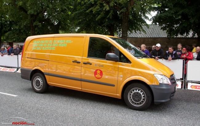 La Mercedes-Benz Vito E-CELL, un completo éxito en Dinamarca