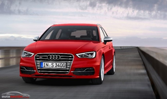 Nuevo Audi S3 Sportback: Pasa de 0 a 100 km/h en 5 segundos desde 44.320 euros