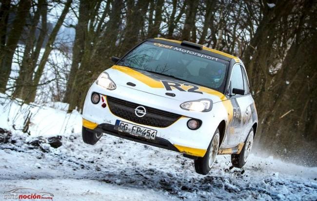 Opel ultima los detalles del Adam Rally R2