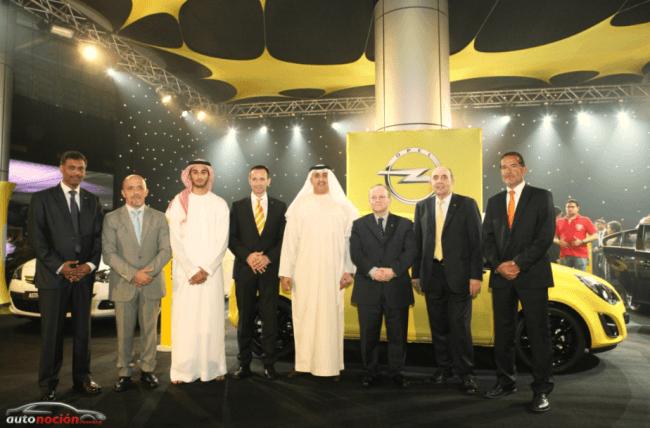 Opel lanza una nueva gama en los Emiratos Árabes Unidos