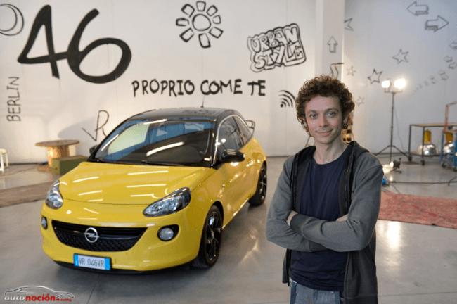 Valentino Rossi Nuevo embajador de la marca Opel para el ADAM