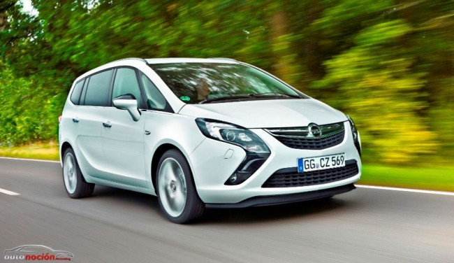 As Es La Nueva Gama Opel Zafira Tourer Ms Eficiente E Interesante