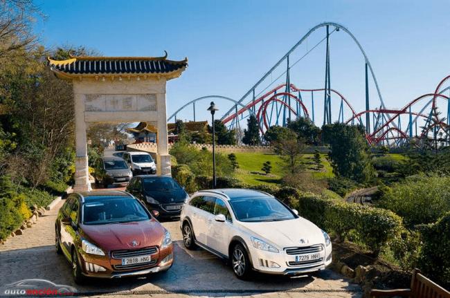 Acuerdo de patrocinio de Peugeot con PortAventura