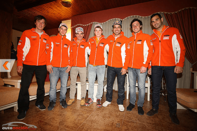 KTM reúne a sus pilotos en su Stage de pretemporada