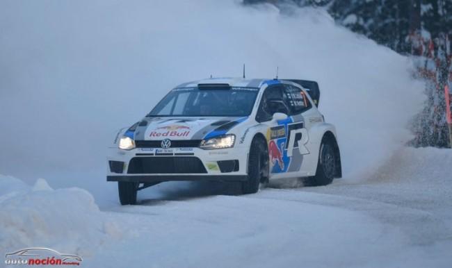 Ogier defiende el liderato en el Rallye de Suecia
