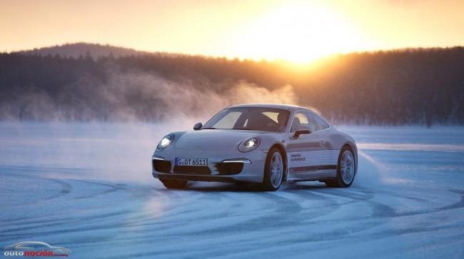 Conduce un 911 a -30 °C sobre un lago helado en el Porsche Driving Experience