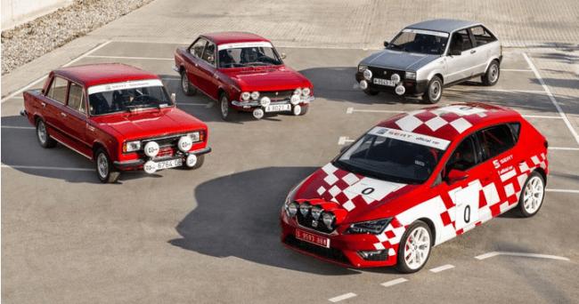 El Rally de España de históricos contará con 3 vehículos SEAT