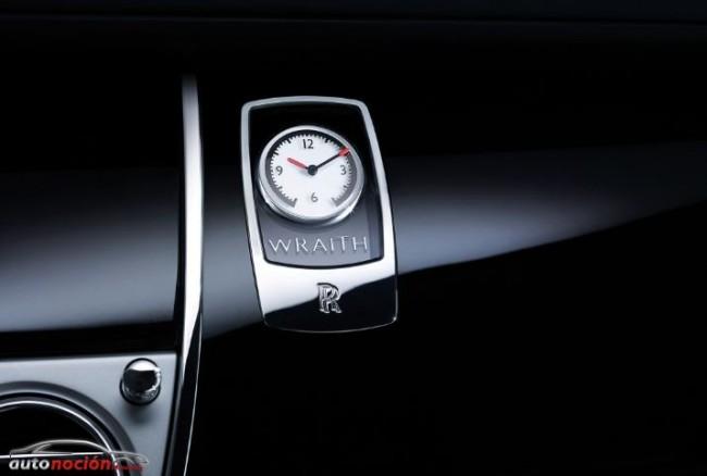 Nuevas imágenes interiores del Rolls-Royce Wraith
