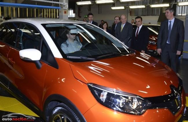 Inauguración de la línea de fabricación del Renault Captur