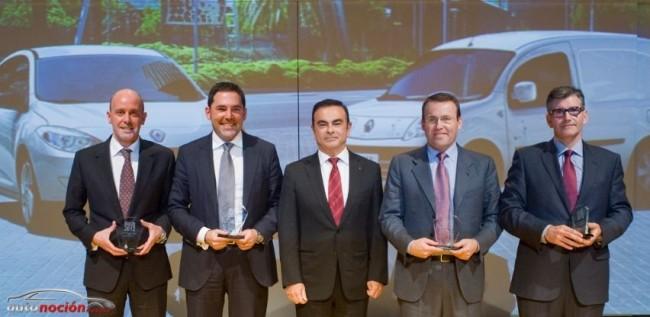 """Renault entrega los premios """"Dealer of the Year 2012"""""""