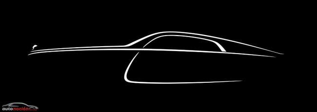 Último teaser del Rolls-Royce Wraith: Definitivamente un fastback
